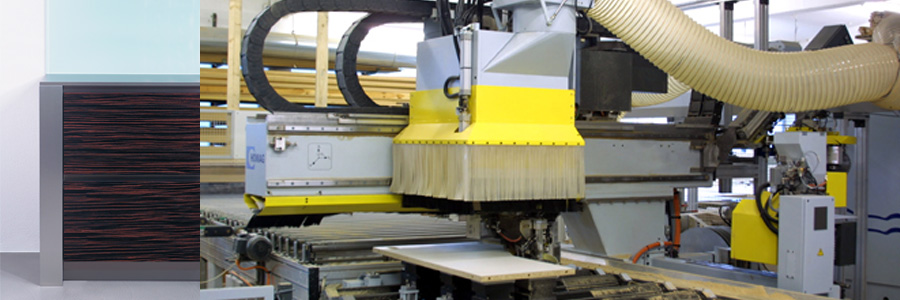 Interior-Konfektion Produktion CNC